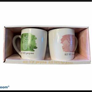 NWT Two mug gift set - Aloe There